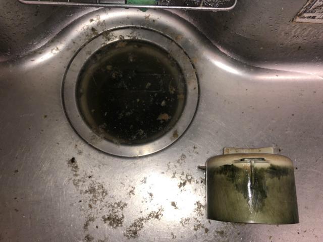 台所の排管つまり抜き工事(知立市)