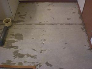 床の張替え