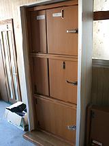 外開き戸、中押し戸、引き戸など、なるべくデッドスペースが少なくなるようご提案。