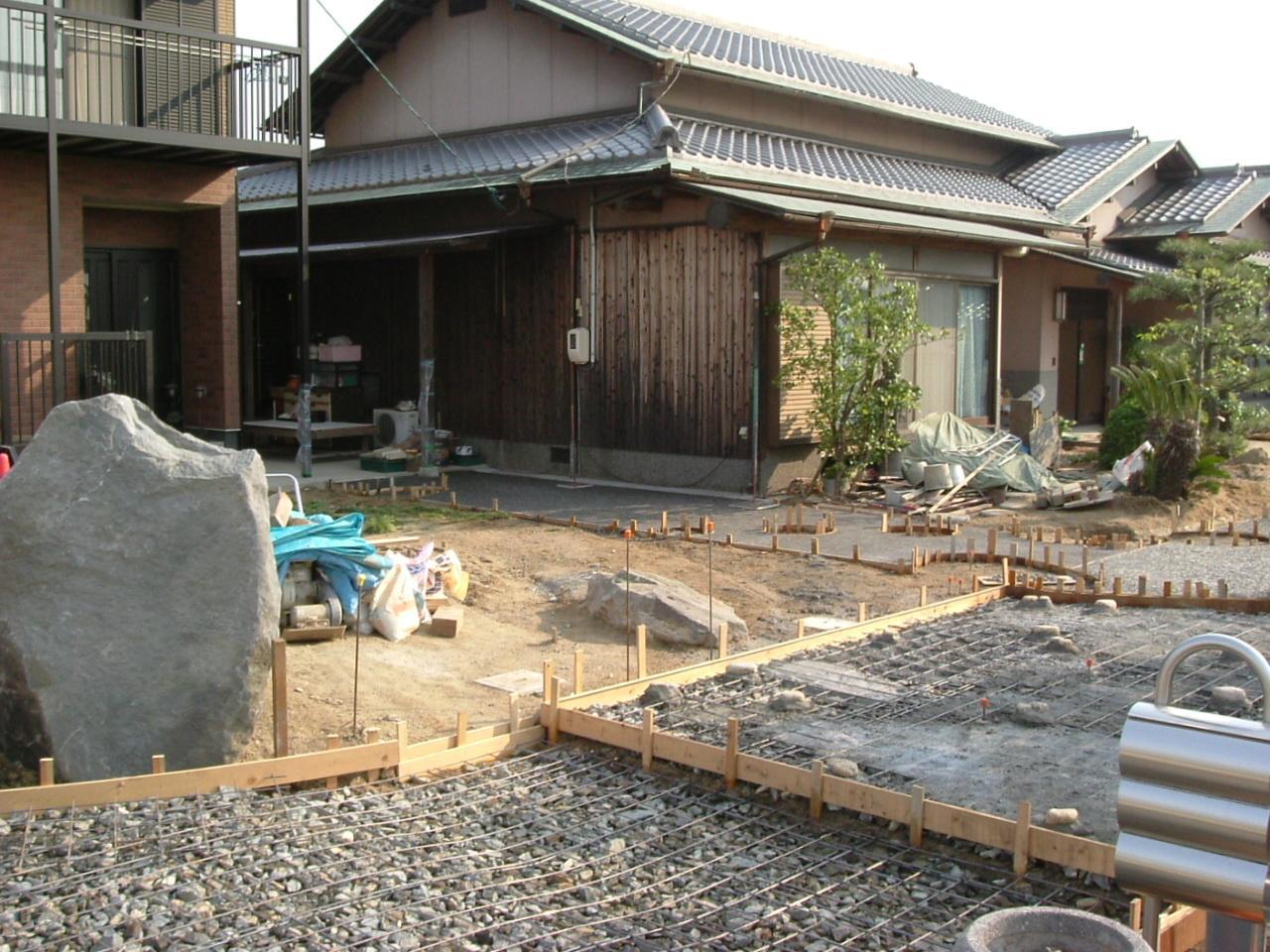 庭園の施工例