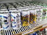 ビールも冷えてます!ケース販売もあります。