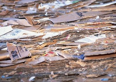 古紙のリサイクル