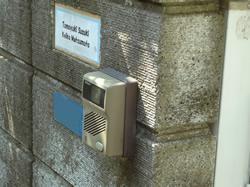 インターフォン取り付け(外側)