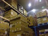 冷凍倉庫にて製品を保管いたします。